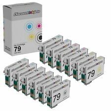 12 Pack Ink Cartridge for Epson T079 Artisan Stylus Photo Printer 1430 1400
