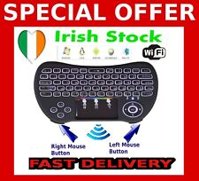 Smart Tv Android Box Keyboard h9 With Backlight Wireless Touchpad and Mouse WiFi