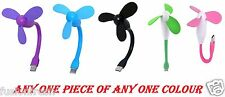 Portable USB FAN Flexible Stick For Computer Laptop Power Bank PC Andriod Mobile