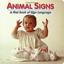 ANIMAL SIGNS EDITION A FIRST B (First Book of Sign ...   Buch   Zustand sehr gut
