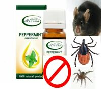 Peppermint 100% Essential Oil Tonic Lowers Blood Pressure Protect Mice snake