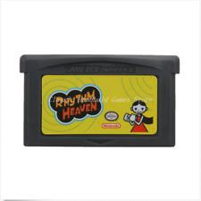 Nintendo GBA Video Game Console Card Cartridge Rhythm Heaven