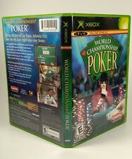 Microsoft Xbox World Championship Poker Game Live Online Gaming Rated E-Everyone