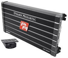 Power Acoustik CB1-8000D 4000 Watt RMS Mono Amp Car Audio Class D Amplifier 8000