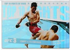 Carlos Condit Jake Ellenberger 2010 Topps UFC Main Event Top 10 Fights Of 2009 9