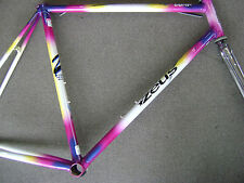 used 55.5cm. Zeus Comp Mente road bicycle frameset Columbus Brain tubing frame