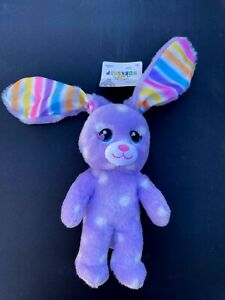 Build-A-Bear Buddies™ Purple Polka Dots Easter Bunny Plush Toy - NEW