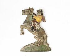 Vintage Original 1950's Cast iron Cowboy On Horse Children's Coin Op Ride