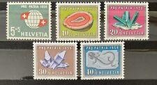Série Pro Patria 1959 Neuf MH* , Mi 674-678