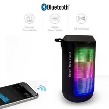 Dinámico de alta calidad LED Bluetooth y altavoz inalámbrico portátil de viaje fuerte