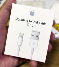 Apple Lightning To USB Cable 2M, iPhone Charger Cable 1M Charging Lead 7 8 6 XS