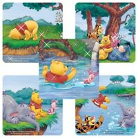 Winnie the Pooh Stickers x 5 - Favours Rewards Glitter Stickers Birthday Party