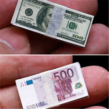 1/12 Scale Coins Dollars Euro Money Scene Accessories Toys for dollhouse.fdE3R