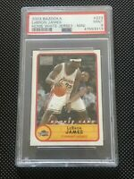 ✅ LEBRON JAMES 2003-04 BAZOOKA ROOKIE RC CARD #223 GRADED PSA MINT 9 LAKERS 📈