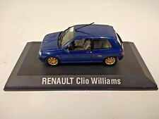 RENAULT CLIO WILLIAMS 1:43 DIE CAST MODEL Blu