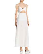 Fame and Partners Cutout Front Maxi Dress MSRP $249 Size 12 # 2NB 822 NEW
