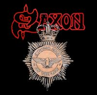 SAXON cd cvr STRONG ARM OF THE LAW Official SHIRT New Sizes L,XL
