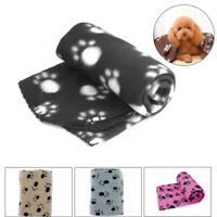 60x70cm Pet Small Dog Cat Puppy Bed Cover Soft Fleece Blanket Warm Winter
