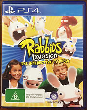 Rabbids Invasion: The Interactive TV Show Playstation 4/PS4 New Free Shipping