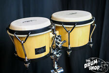 "Schalloch Bongos 7""& 8"" Natural Finish With Black HW"