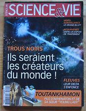 Science et Vie, les trous noirs, n°1111, 2010, bon état