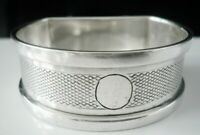 Silver Napkin Ring, Birmingham 1935, Henry Griffith & Sons Ltd