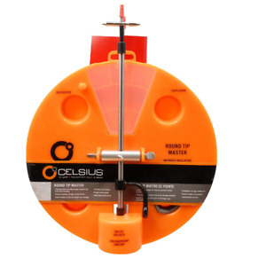 Celsius Round CE-RTU Tip-Master 4 Rod Holder, Ice Fishing Season Special