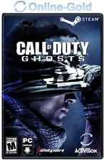 Call of Duty: Ghosts Key - CoD 10 - Code Jeu PC - Steam Digital Code - EU/FR