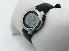 Armitron Ladies Watch Sport Digital Black Silver Tone Water Resistant 165FT
