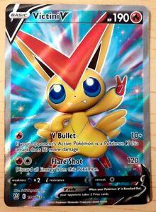 Pokemon: Battle Styles 'Victini V' Full Art - HOLO Rare - NM 144/163