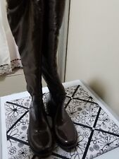 Snow and rain boots woman over the knee  size 9.