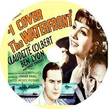 I Cover the Waterfront DVD Ben Lyon Claudette Colbert Rare 1933