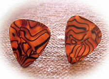 Gift or gift for musician! Cufflinks - Guitar Pick Style. Mens