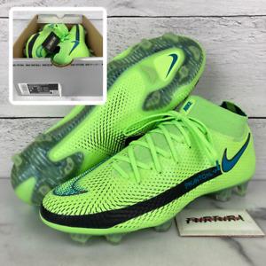 Nike Phantom GT Elite DF FG Men's Size 7.5 Soccer Cleats Green CW6589-303 No Lid