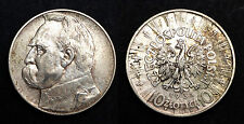 Pologne 10 Zloty 1935. Argent