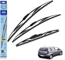 """Mitsubishi Colt 2004-2013 standard wiper blades set of 3 26""""11""""14""""alca SPECIAL"""