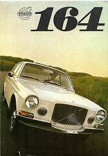 Volvo 164 1968-69 UK Market Foldout Sales Brochure