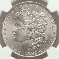 1883-O Morgan Silver Dollar PCGS Certified MS64 NEAR GEM SLIGHT GRAY PATINA
