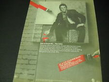 KC AND THE SUNSHINE BAND 1981 Promo Poster Ad KC is THE PAINTER get to know him