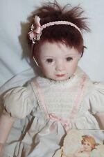 """Great American Doll Company Porcelain 17"""" Doll Oh, Sydney - Tag Rotraut Schrott"""