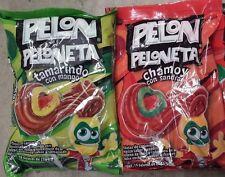 Pelon Peloneta 1 Tamarindo/Mango & 1 Chamoy/Sandia*Delicious Candy~18pcs per bg