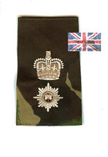 DPM Irish Guards Lieutenant Colonel RANK SLIDE ( Foot