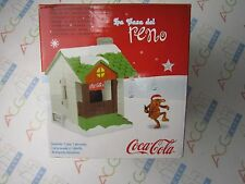 Coca Cola Christmas Village El Pueblo de las Buenas Acciones House Spanish USED