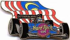 Hard Rock Cafe KUALA LUMPUR 2000 Formula 1 RACE CAR Flag PIN Racing