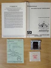 Werberatschlag + Dia + Freigabeb* Zuckermanns Farm - Wilbur im Glück * EA 1973