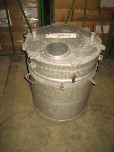 200 Liter Aluminium Milchtank mobil Milchauffangbehälter für Melkmaschine Tank