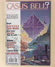 CASUS BELLI n° 57 Magazine des Jeux Simulation Rôle Plateau Figurines Wargames