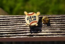 Grand Slam Baseball California State Lottery Metal & Enamel Lapel Pin Pinback