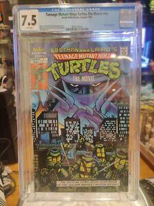 Teenage Mutant Ninja Turtles The Movie Archie CGC 7.5 TMNT