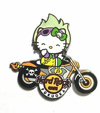 Hard Rock Cafe FUKUOKA 2015 Hello Kitty Ghost Rider Motorcycle Pin LE100 RARE